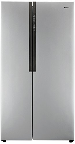 Haier HRF 618 SS Frost-free Side-by-Side Refrigerator