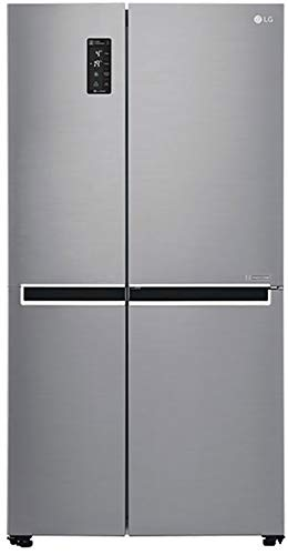LG 687 L Frost Free Inverter Linear Side-by-Side Refrigerator (GC-B247SLUV, Platinum Silver III, Multi Air Flow)