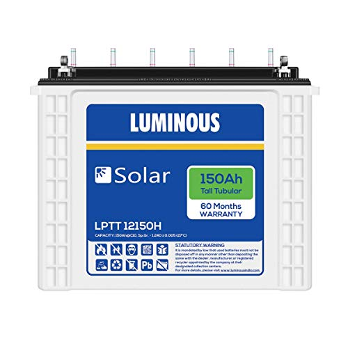 Luminous LPTT12150H Solar Tubular Battery