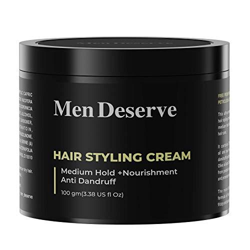 Men Deserve Strong Hold Styling Cream