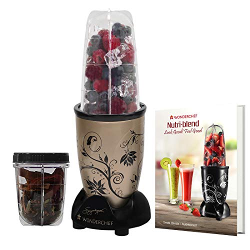 Wonderchef Nutri-Blend 400 Watts Juicer Mixer Grinder