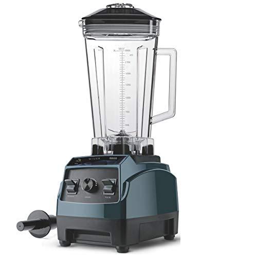 Inalsa MERAK Mixer Grinder/Power Blender/Juicer-2000W with 100% Pure Copper Motor & Variable Speed| 8 Leaf Stainless-Steel Blade| Includes BPA-Free Tritan Jar (2L), (Green/Black)