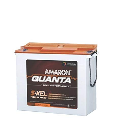 Amaron 150AH Tall Tubular Battery, White