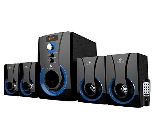 Zebronics 4.1 Multimedia SW3490 RUCF Wired Home Audio Speaker