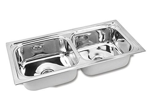 Gargson Double Bowl Kitchen Sink