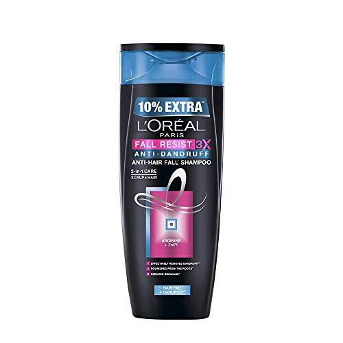 L'Oreal Paris Hair Fall Resist 3X Anti-dandruff Shampoo