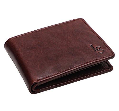 Louis Stitch Brown Wallet For Men