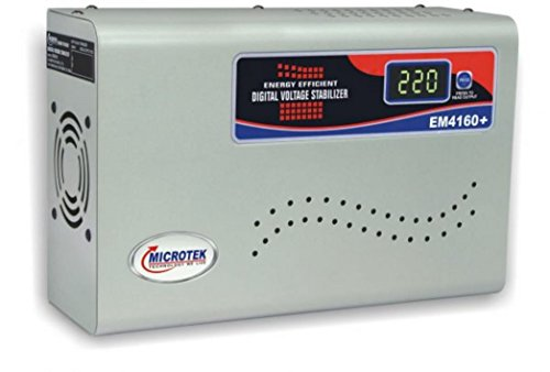 Microtek EM4160+ 160V-285V Digital Display Voltage Stabilizer