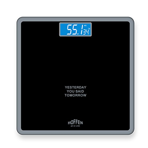 Hoffen Digital Elecronic LCD Fitness Weighing Scale
