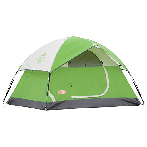 Coleman Sundome Camping Green Tents