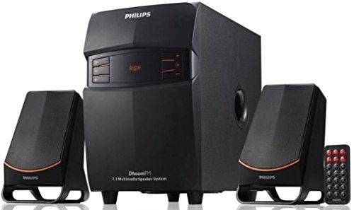 Philips MMS-2550F/94 2.1 Channel Multimedia Speakers System