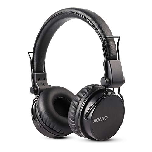 AGARO - 33327 Fusion On-Ear Bluetooth Headphones with Mic (Black)