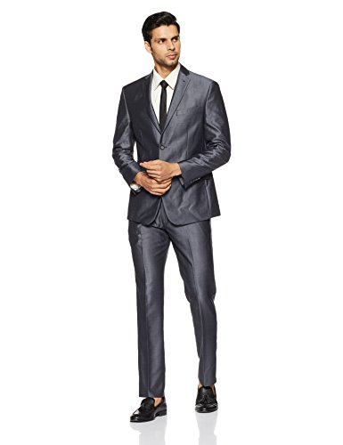 Louis Philippe Men's Regular Fit Suit