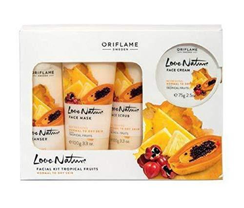 Oriflame Love Nature's Tropical Fruit Facial Kit