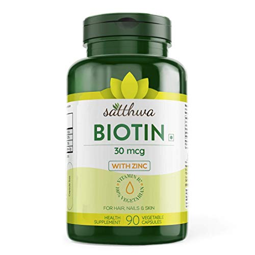 Satthwa Biotin With Zinc For Hair