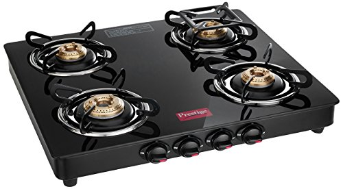 Prestige Marvel Glass 4 Burner