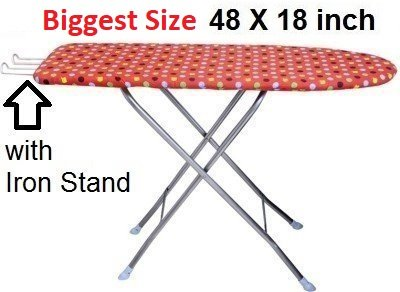 TruGood Folding Ironing Board Iron Table with PRESS Stand
