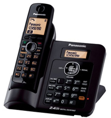 Panasonic Single Line 2.4GHz KX-TG3811SX Digital Cordless Telephone