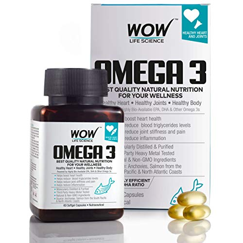 Wow Omega-3 Fish Oil For Triple Strength