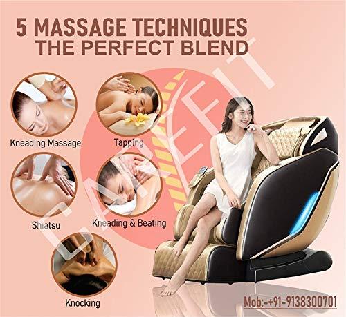 Carefit India's Latest Zero Gravity 4D Zcare Massage Chair