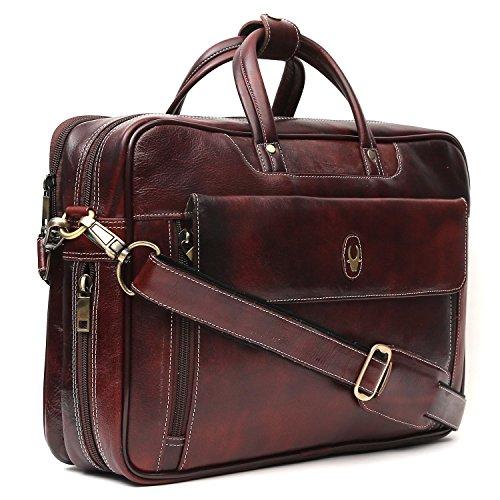 WildHorn Leather Laptop Messenger Bag