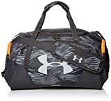 Under Armour Synthetic 9.1 inches Pitch Gray Gym Bag (1301391)