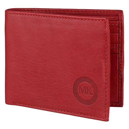 Martin Kors Burgundy Leather Wallet