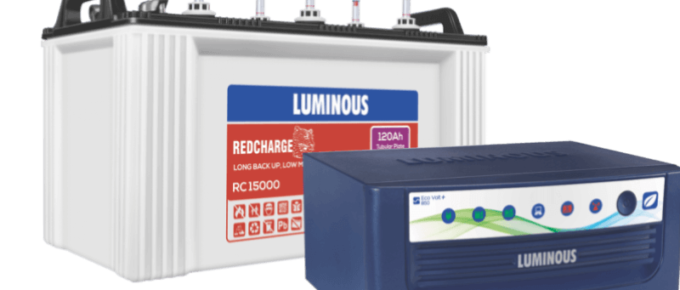 Best Luminous Inverter Battery
